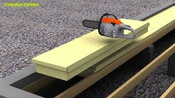 Rossipohjan eristys, tuulettuva alapohja, Finnfoam FI-K600 ja FL-K600