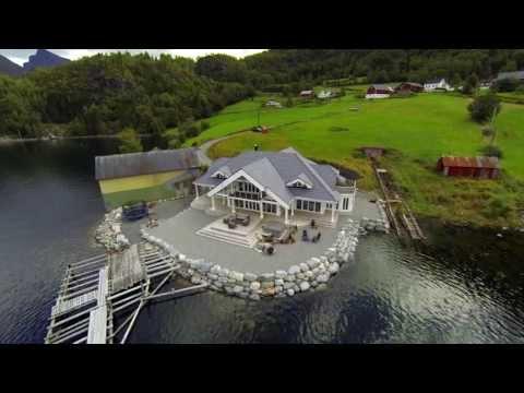 Notar presenterer: Arkitekttegnet perle i sjøkanten ved Austefjorden!