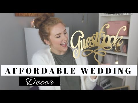 WHERE TO FIND AFFORDABLE WEDDING DECOR | Moriah Robinson