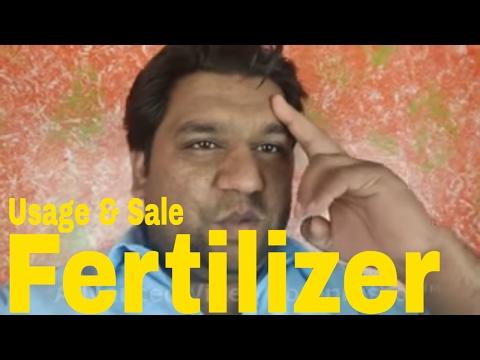 Fertilizer Usage & Sale ( Nitrogen 20% Liquid )