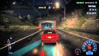 Need For Speed 2015 - Pulse of the City (Time Trial): Modified Mustang Level 11 Acquired Gameplay