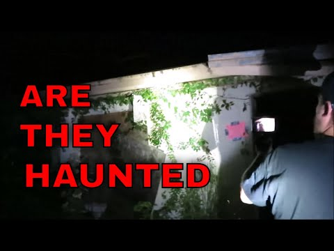 "Midnight at The Abandoned Grain Mill and GHOST TOWN ""BEWARE"""