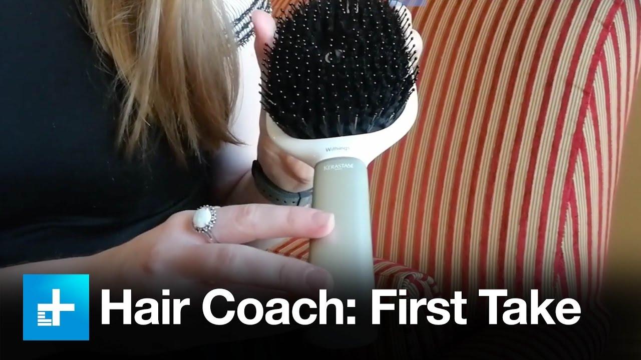 Withings Kerastase Hair Coach First Take At Ces 2017 Youtube