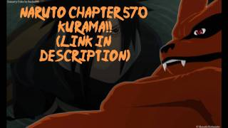 Naruto Manga Chapter 570- Kurama!!