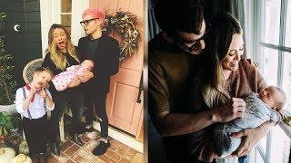 Hilary Duff Jokes Newborn Daughter Banks Needs to 'Try Harder' in Fun Family Photo - 247 news