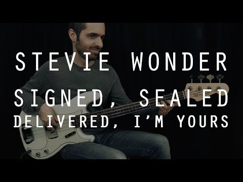 Signed Sealed Delivered Im Yours Piano Chords Stevie Wonder