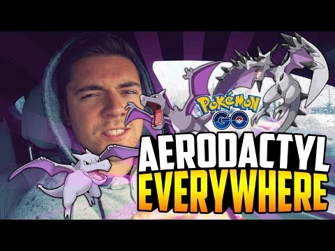 Pokemon Go - THE ROCK EVENT IS CRAZY! (Aerodactyls EVERWHERE + Blizzard in May?!)