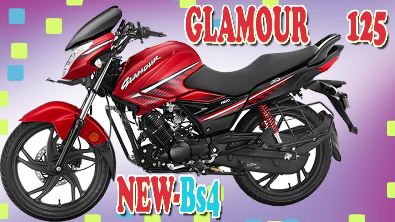 Hero Glamour 125cc New Bs4 2017 Youtube
