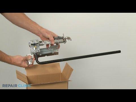 Whirlpool Gas Dryer Gas Valve Burner Kit Replacement (Model #WGD49STBW2)