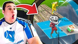 The TROLLS VS THE GENTILS PLAYERS ON FORTNITE BATTLE ROYALE!