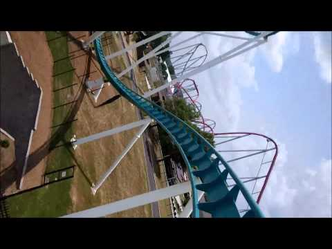 Carowinds: Fury 325 / On Ride Front Row POV / June 24, 2015