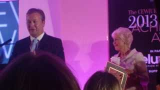 Sean Harrington MD Elemis receiving Special Industry Award Thumbnail