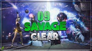 【FFXIV】Alphascape V1.0 Savage Clear (O9S) ~ Scholar PoV