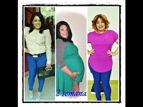 como perder peso rapido pos parto