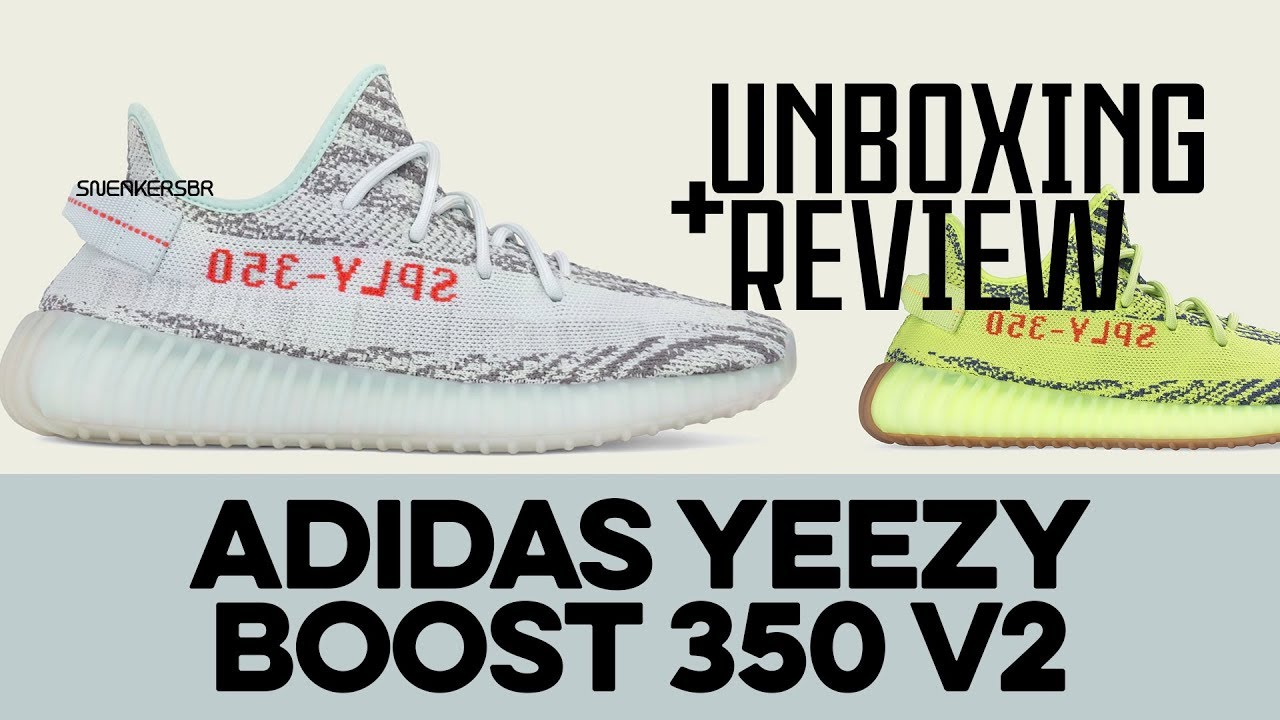 nett UNBOXING+REVIEW adidas Yeezy Boost 350 V2  spare mehr