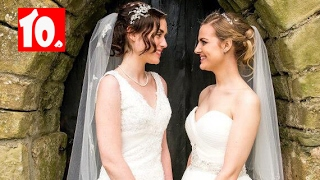 Top 10 Cute Lesbian Couples Married - 3