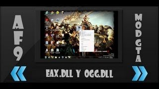 Descargar EAX.DLL y OGG.DLL para solucionar errores de Juegos (Loquendo)