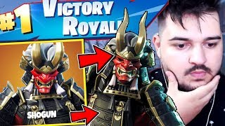WE'RE DOING A VICTORY ROYALE ON SOLO IN FORTNITE WITH THE NEW SKIN!