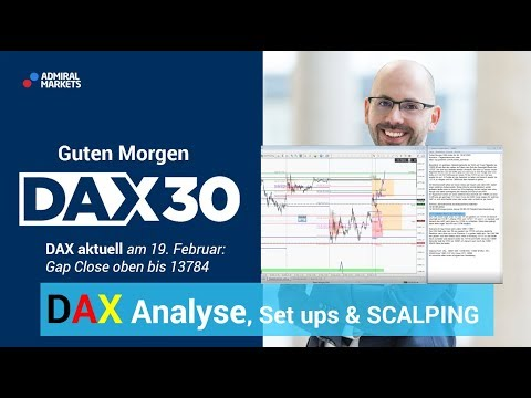 DAX aktuell: Analyse, Trading-Ideen & Scalping | DAX 30 | CFD Trading | DAX Analyse | 19.02.2020