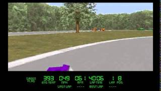 Virtual Karts gameplay (PC Game, 1995)