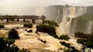 Водопад Игуасу Бразильская сторона. Апрель 2013