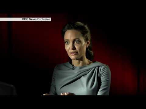 #AngelinaJolie Angelina Jolie: Refugee Strength Should be 'Represented More'
