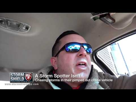 4 things a storm spotter is and isn't