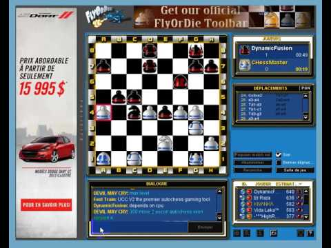 flyordie dinamicfusion vs chessmaster