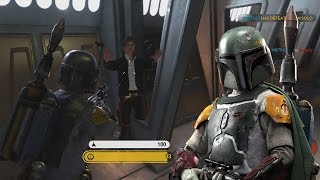 Star Wars Battlefront Boba Fett Gameplay (Star Wars Hero Gameplay Bobba Fett)