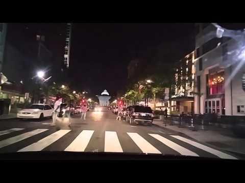 Driving by Raleigh,North Carolina