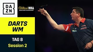 Mensur Suljovic muss gegen Ryan Searle ran | Darts WM  | Tag 8 Session 2 | DAZN