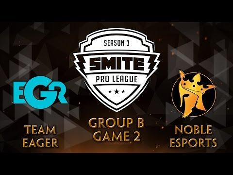 SMITE Pro League Fall Split Group B - Team Eager vs Noble eSports (Game 2) - 동영상