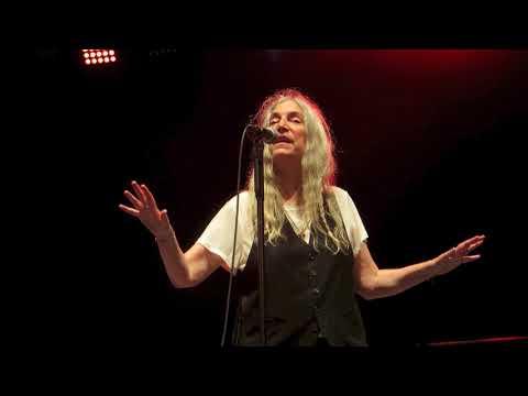 Patti Smith @ Central Park Summerstage: