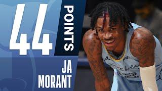 Ja Morant ERUPTS For CAREER-HIGH 44 PTS! | #KiaTipOff20