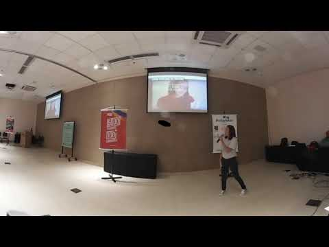 Cintia (canal Cintia Disse) 360 video (Poliglotar 2017)