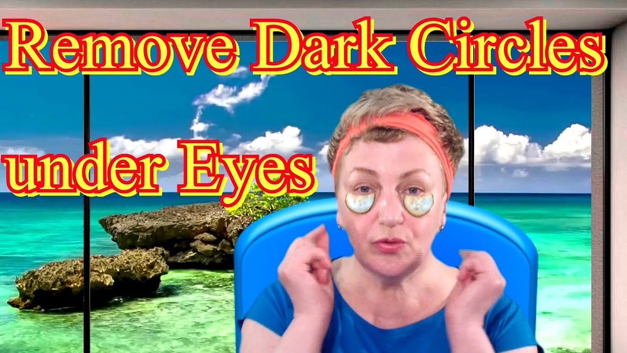 How to Remove Dark Circles under Eyes at Home - Cucumber ...