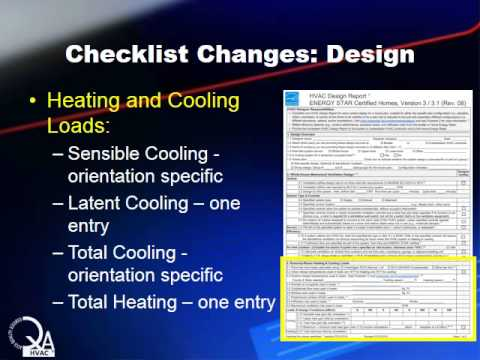 ENERGY STAR HVAC Design Chklst Rev 8