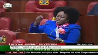 Millie Odhiambo CHASED Like a DOG out of Parliament. The Speaker Gets MAD at Her