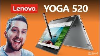 Unboxing Notebook 2 em 1 Lenovo Yoga 520 com tela touch e Caneta 2018