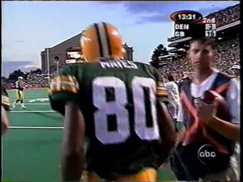 1999 Mayes Catches TD from Hasselback Preseason