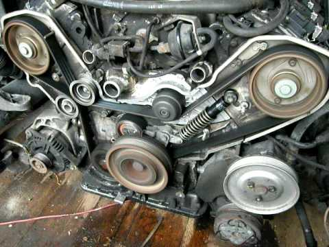 Audi A8 New Timing Belt Youtube