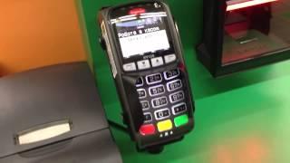 видео Как установить терминал Сбербанка для оплаты банковской картой в магазине