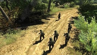 Men of War Vietnam - NV campaign walkthrough - Mission 1 - Until the Trouble Troubles You 5/6