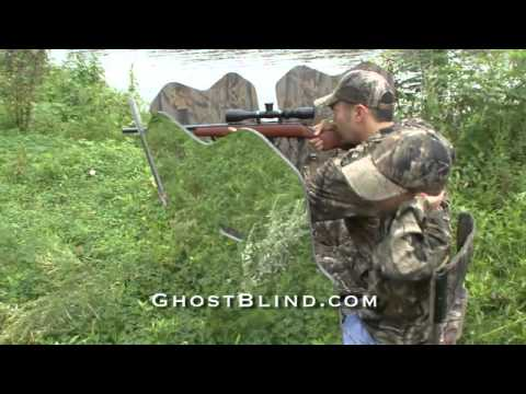 GhostBlind #10 - Mirror Hunting Blind National Commercial