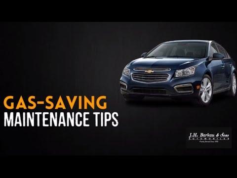Gas-Saving Maintenance Tips. Gas Mileage Tips
