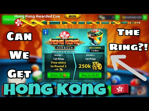 8 Ball Pool - Hong Kong Is Back! - Winning The Hong Kong Tournament + The Cue!  🇭🇰 [Luckiest Wins]