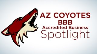 AZ Coyotes BBB Accredited Business Spotlight: Adams Refrigeration