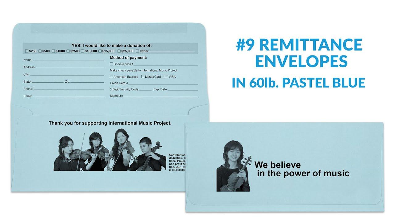 9 Remittance Envelopes Youtube