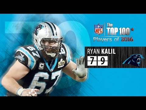 #79 Ryan Kalil (C, Carolina Panthers) | Top 100 Players of 2016