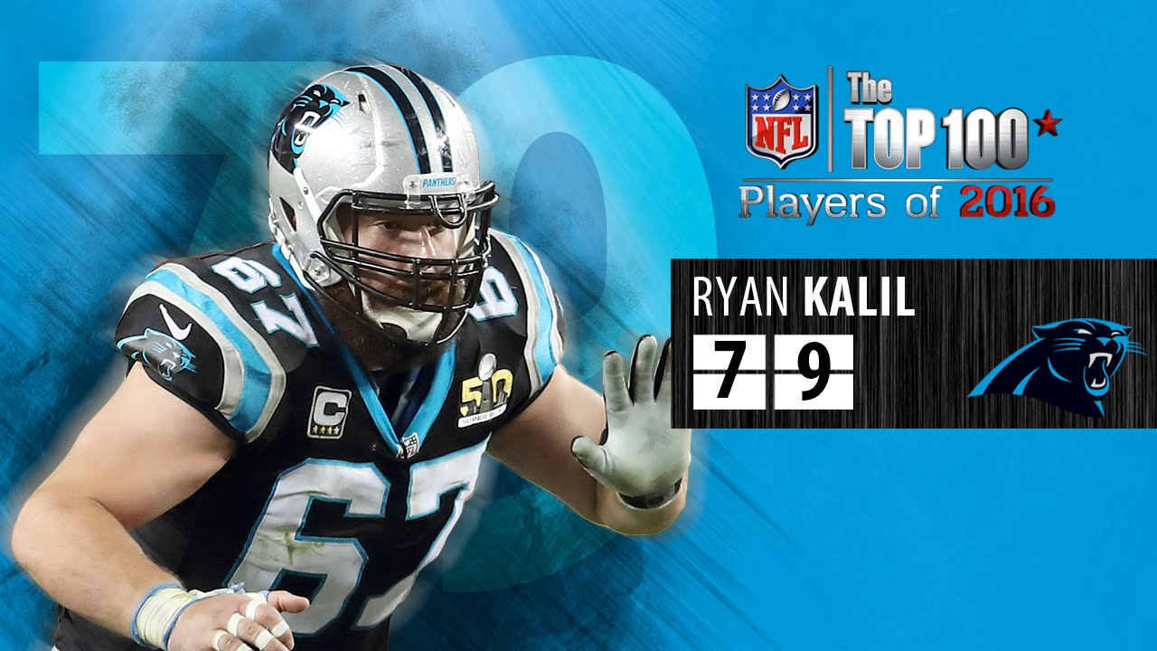 79 Ryan Kalil C Carolina Panthers